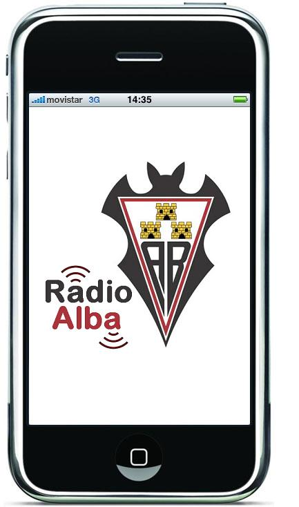 Radio Albacete Balompié en iPhone