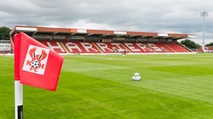 Aggborough Stadium. Estadio de los Kidderminster Harriers