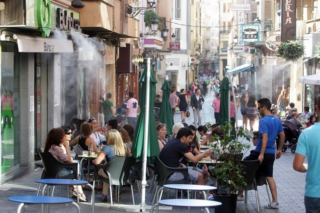 Calle Concepcion is the heart of Albacete's nightlife, and a stag do haven