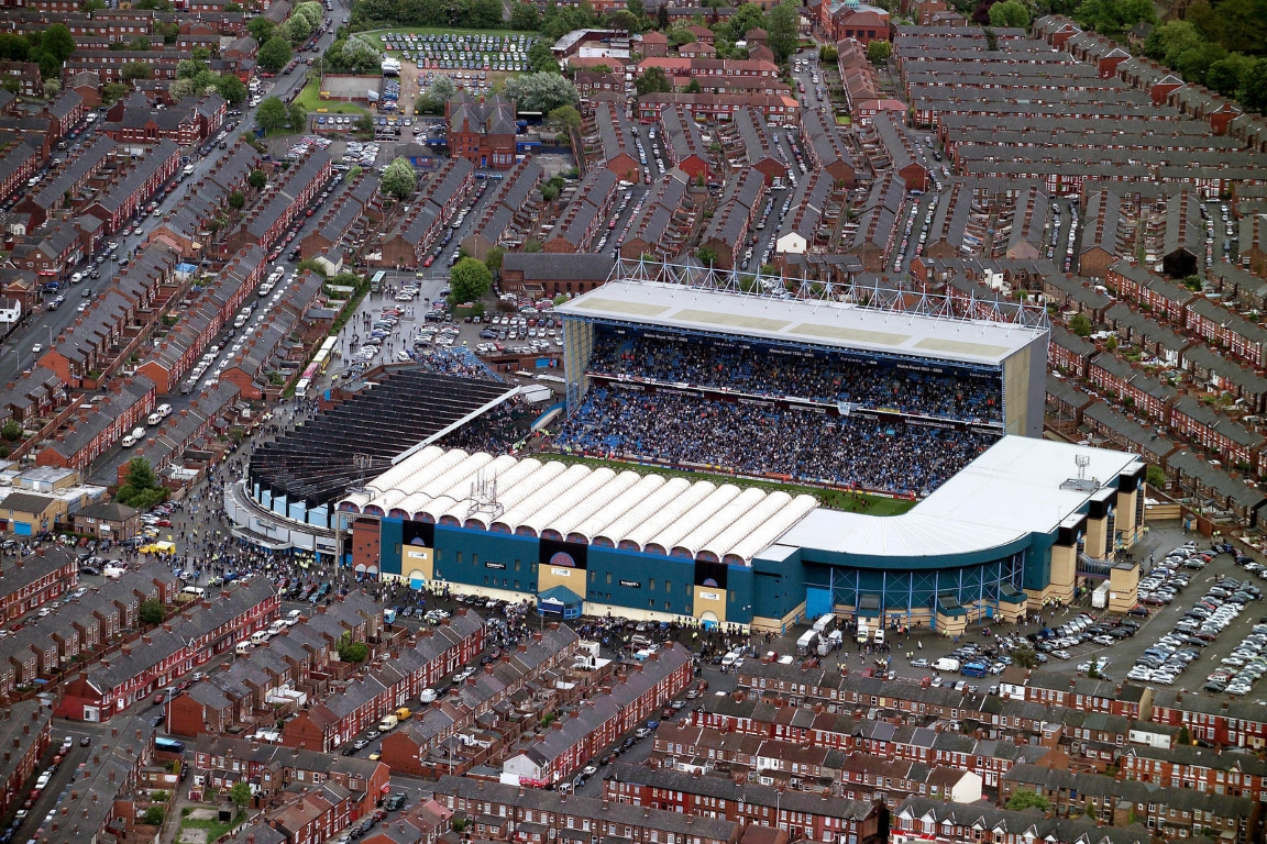 Maine Road. Stadium of Manchester City From 1923 to 2004